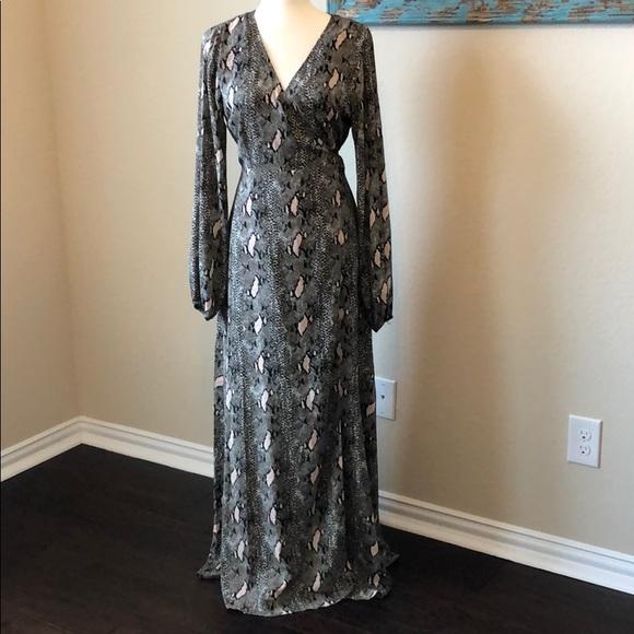 491e2ed92401 Buddy Love Dresses   Cobra Snake Print Wrap Maxi Dress   Poshmark